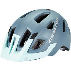 Cratoni Maxster Pro Helmet Kids steel/blue matte